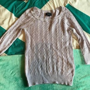 American Eagle lavender sweater